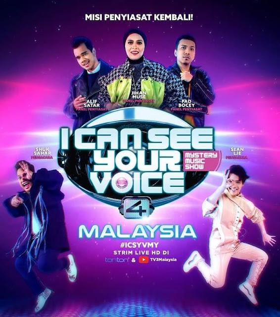 Tarikh Tayangan I Can See Your Voice Malaysia 4 (2021)