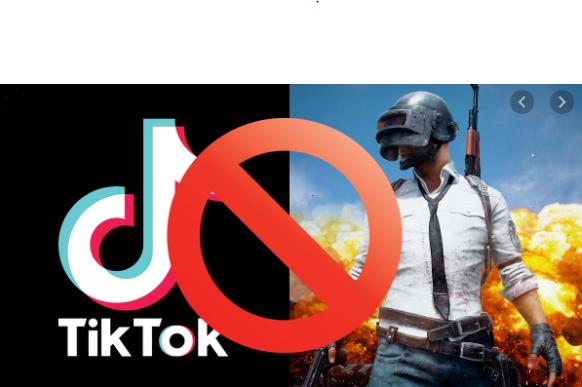 Tiktok Pubg Banned in India