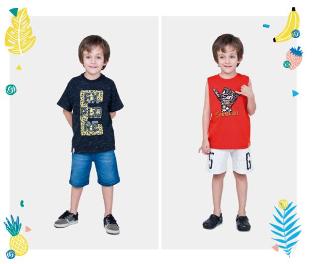 Shorts y bermudas de moda verano 2018 para niños.