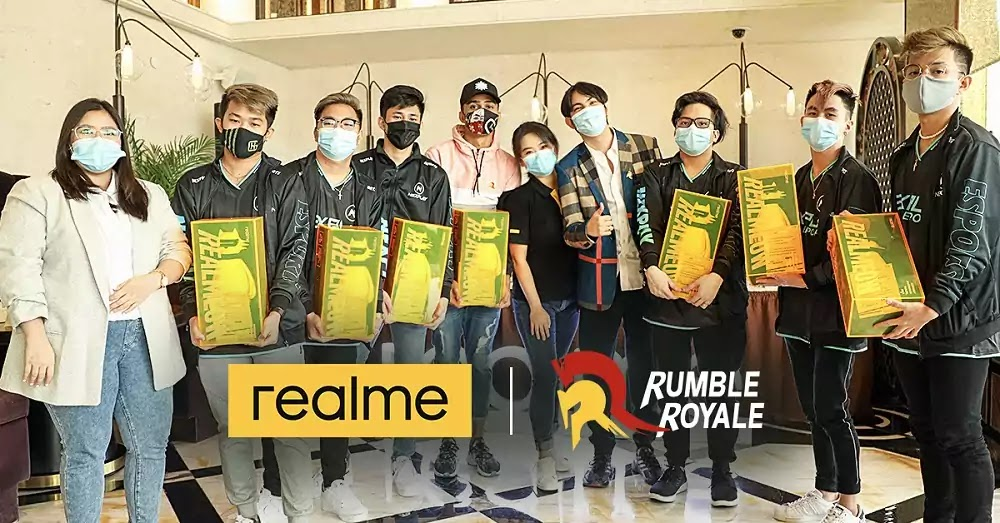 realme collaborates with Philippines' top gaming influencers