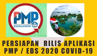 PERSIAPAN  RILIS APLIKASI PMP / EDS 2020 COVID-19