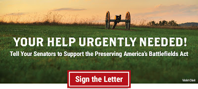 Speak Out: Tell Your Senators to Support Preserving Battlefields