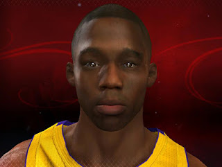 NBA 2K13 Jodie Meeks Cyberface Patch