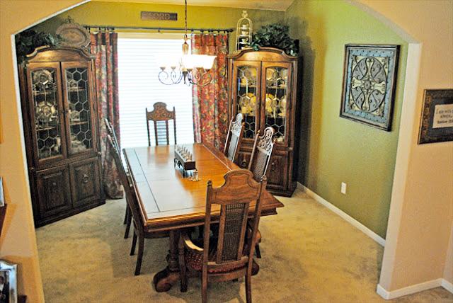 Green Dining Room Decor