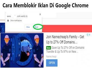 Cara Menghilangkan Iklan Notifikasi di Google Chrome