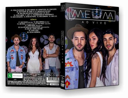 CAPA DVD – Melim – Ao Vivo DVD-R