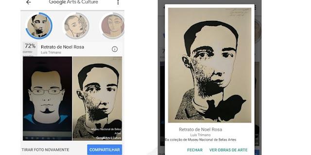 Google Arts & Culture é o novo recurso que encontra seu sósia em obras de artes (Imagem: Reprodução/TecMundo)