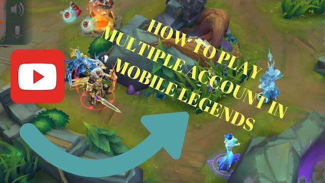 cara bermain mobile legends 2 akun atau lebih