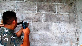 Perforar agujeros en la pared