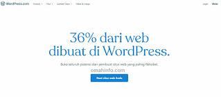 Cara membuat blog dengan WordPress