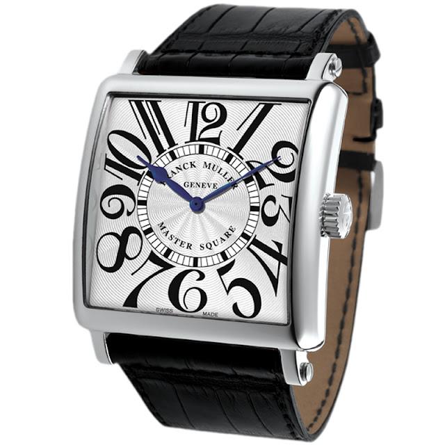 đồng hồ cao cấp Thụy Sĩ hình chữ nhật