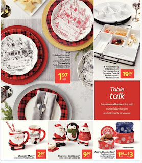 Walmart Flyer 2017 Holiday Decor Valid NOvember 9 - 22, 2017
