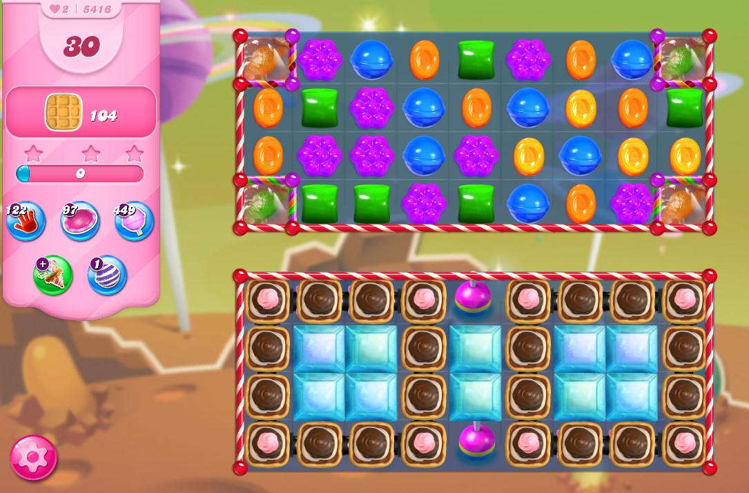 Candy Crush Saga level 5416