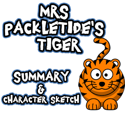 Mrs Packletide's Tiger Summary & Character Sketch