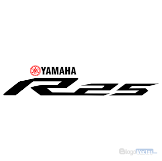 YAMAHA R25 Logo vector (.cdr)