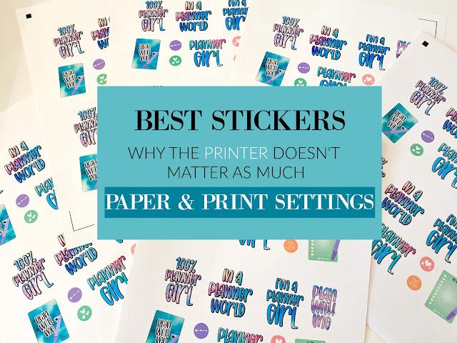 silhouette 101, silhouette america blog, print and cut, home printer, sticker paper