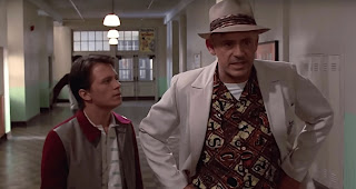 Robert Downey Jr and Tom Holland in Back to the Future   Zurück in die Zukunft Deep Fake
