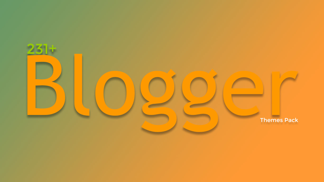 231+ Free Responsive Blogger Templates Pack
