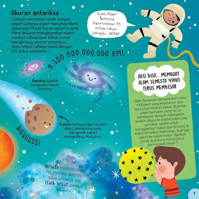 antariksa - buku anak pertamaku antariksa