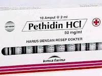 Pethidine - Kegunaan, Dosis, Efek Samping