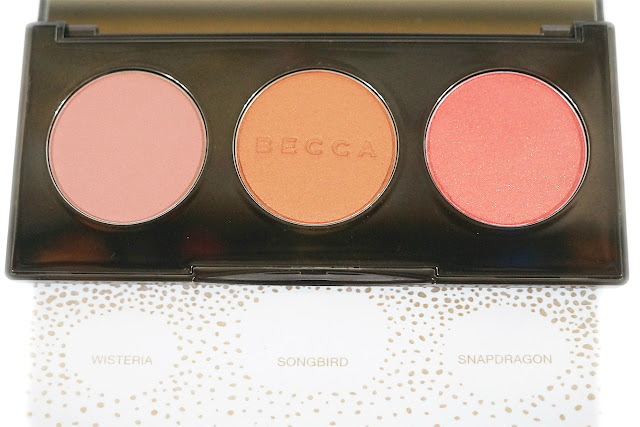 Becca Blushed with Light Palette: Wisteria, Songbird, Snapdragon