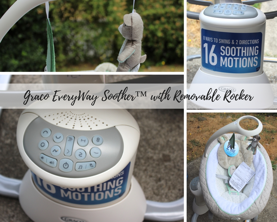 Soothe and Entertain Baby with the Graco EveryWay Soother
