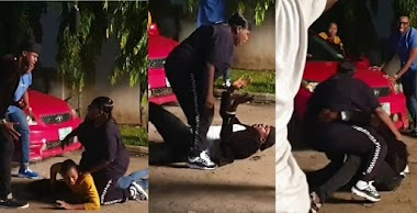 Actor, Odunlade Adekola and singer, Teni fight dirty on movie set (Video)