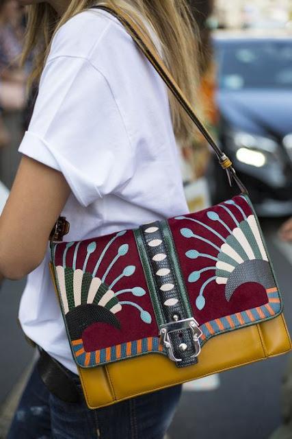 borsa tracolla colorata