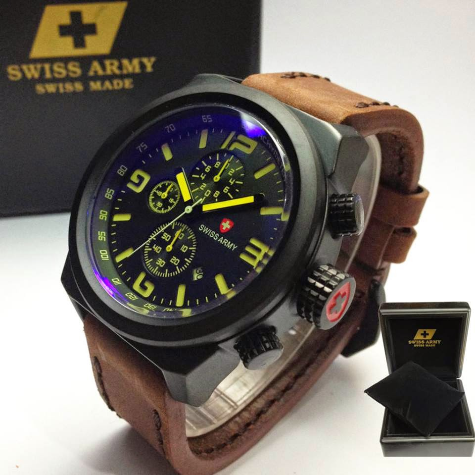 Model jam tangan pria swiss army kw super 1184a1f3cf