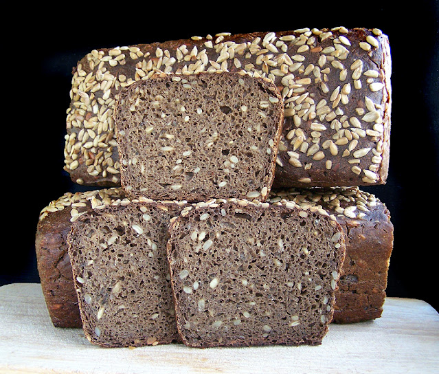 Białoruski zaparzany chleb żytni