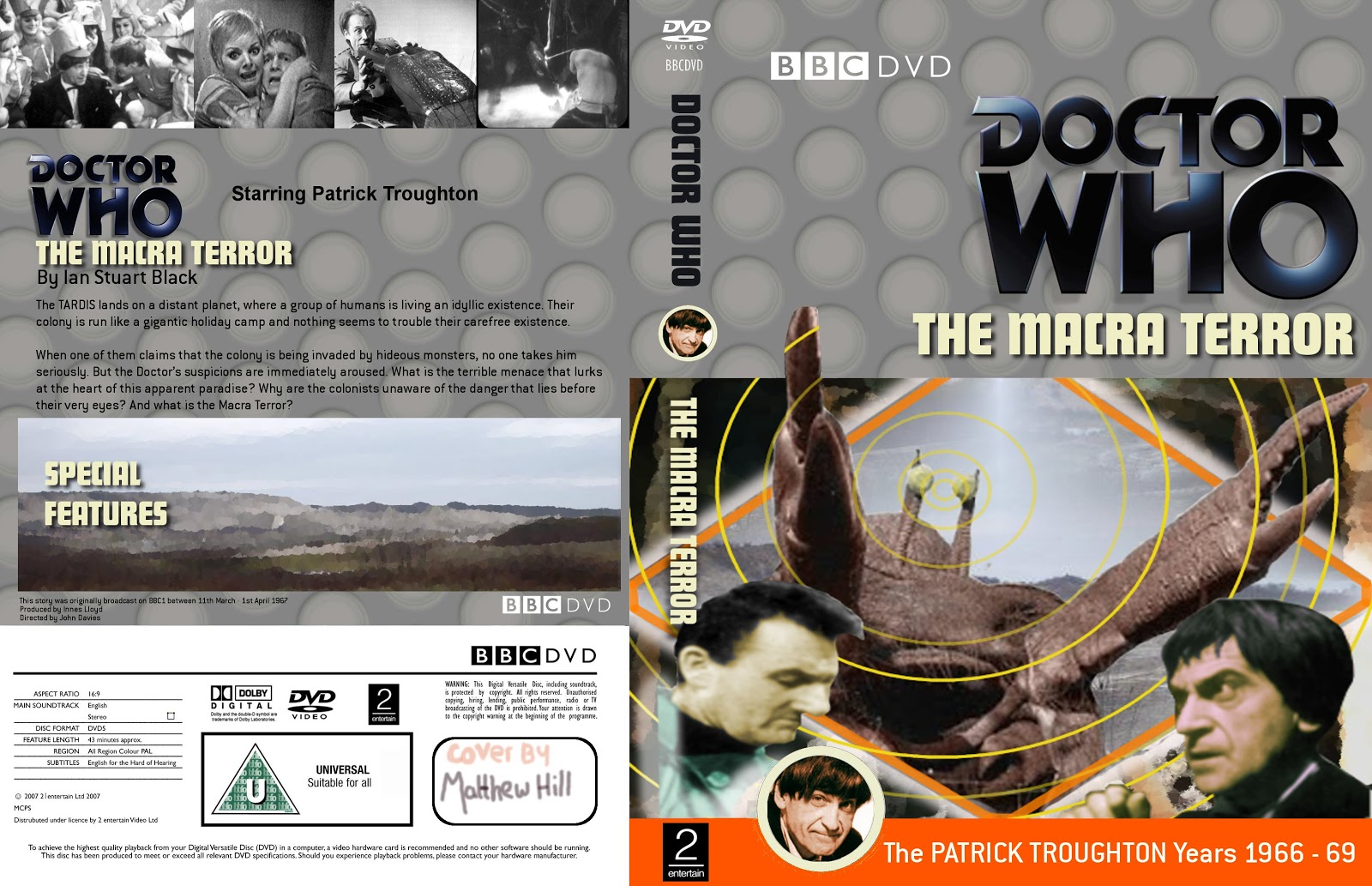My Doctor Who DVD Covers: Classic Covers