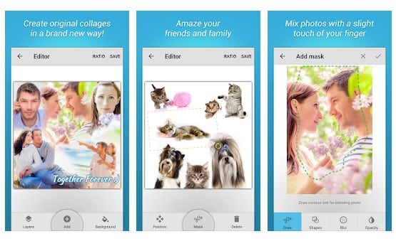 10 Aplikasi Kolase Foto (Photo Collage) Terbaik di Android - Aplikasi Kolase Foto Kekinian Blend Collage Free