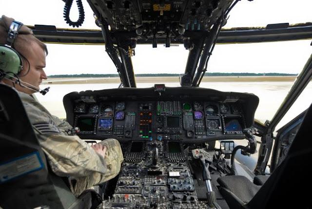 Sikorsky HH-60W cockpit