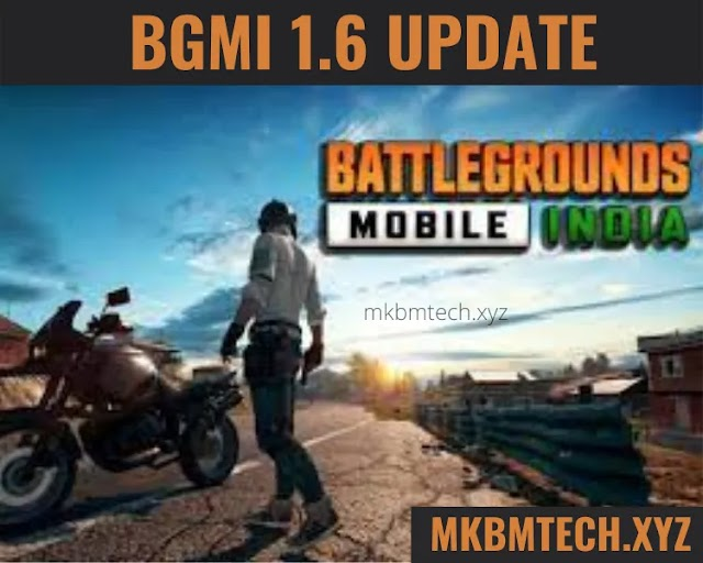 BGMI 1.6 Update | How to Download the new update of Battle Ground Mobile India