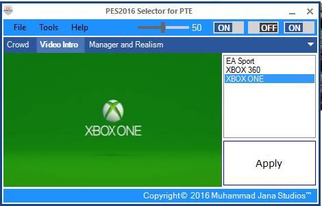 Update PTE Selector V1.01
