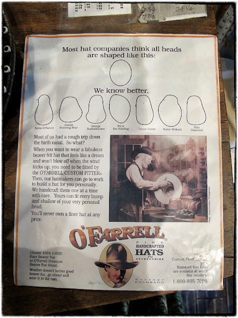 O'Farrell hats
