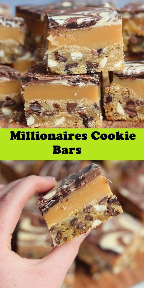 Millionaires Cookie Bars