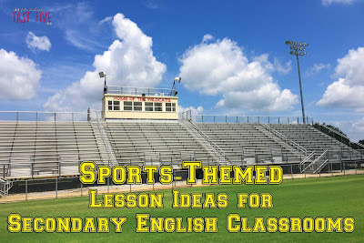 Sports-Themed Lesson Ideas for Secondary English Language Arts Classrooms