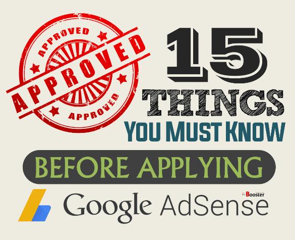 Before Applying for Google AdSense To Make Money Blogging