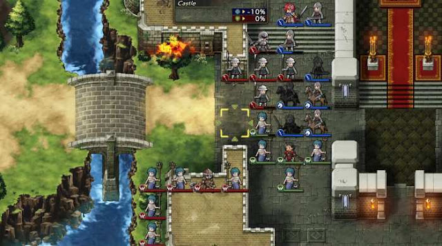 Langrisser 1 and 2 project is a collection of tactical RPGs of the same name, but with redesigned graphics, fully voiced dialogs and newly recorded musical accompaniment.