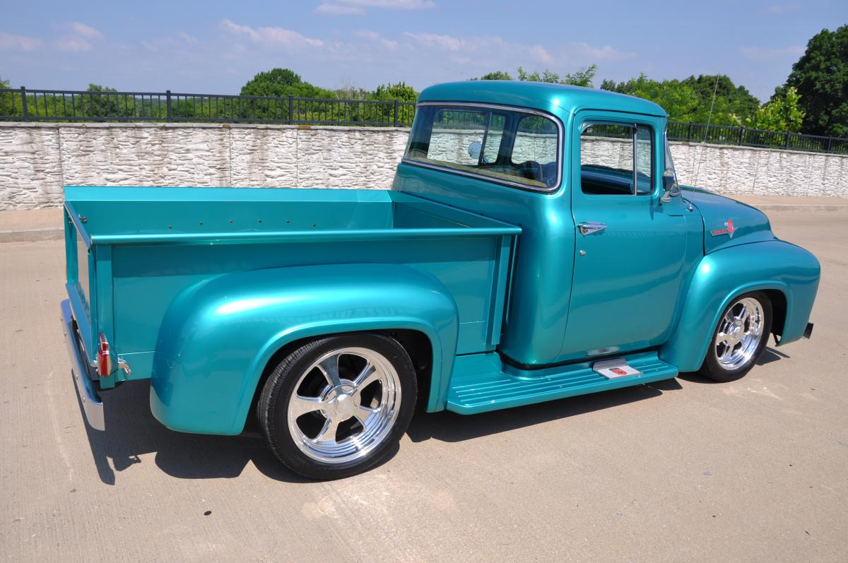 1956 Ford F100 hot rods street rods pickup Pictures ~ cars ...