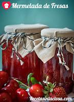 Mermelada de fresas con aroma a vainilla