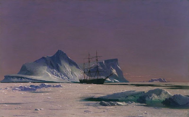 Scene in the Arctic by William Bradford (1880)