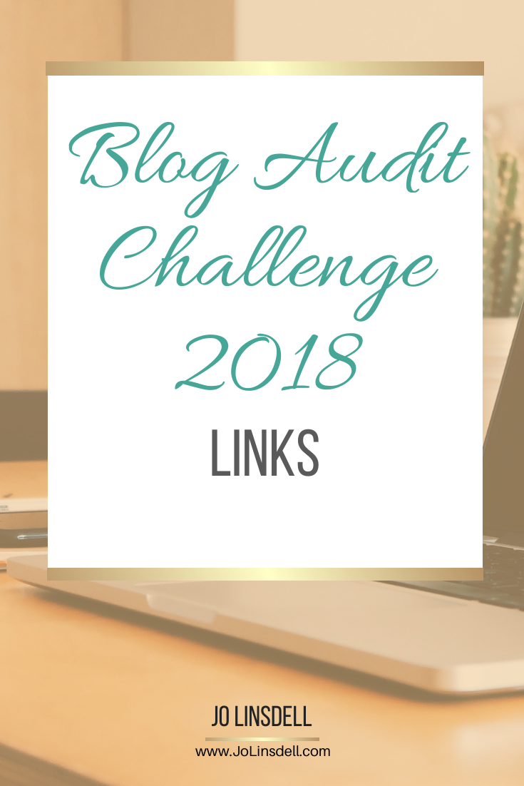 Blog Audit Challenge: Links #BookBlogging #Blogging #BlogAuditChallenge2018