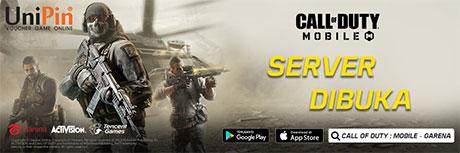 Top Up Garena Shells Call of Duty Mobile di Unipin