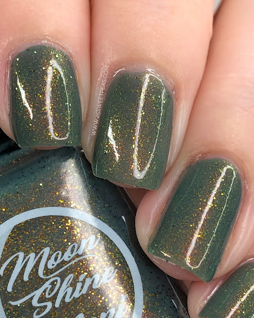 Moon Shine Mani The King of Bad Thanksgivings 25 Sweetpeas