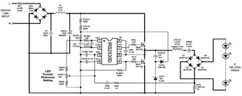 New LED Control Circuit using IRS2530D Circuit Diagram