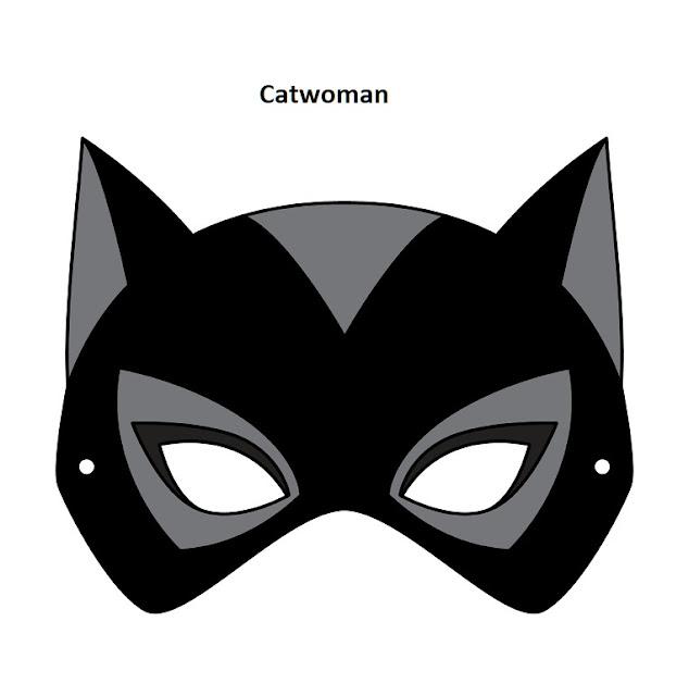 Catwoman: Free Printable Mask