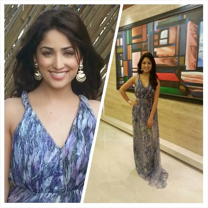 Yami Gautam's different photos from 'Total Siyapaa'promotions