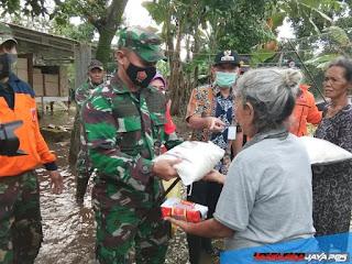 Dandim Dan Forkopimda Jepara Tinjau Lokasi Banjir Termasuk Di Desa Dorang
